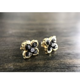 ERICA MOLINARI Ornate Stud Earrings