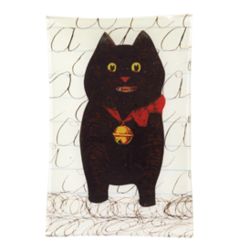 JOHN DERIAN A Cat Rectangle Tray