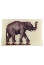 JOHN DERIAN Balancing Elephant Rectangle Tray