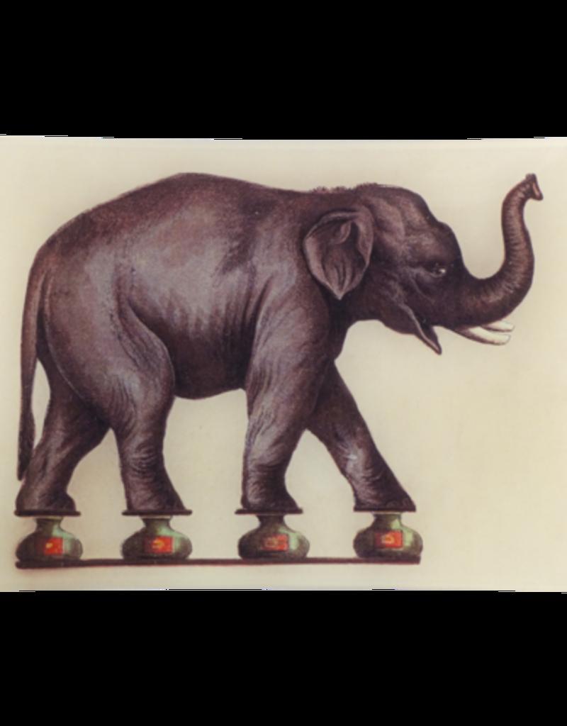 JOHN DERIAN Balancing Elephant Rectangle Tray