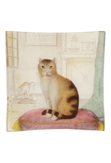 JOHN DERIAN Calm Cat Square Tray