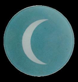 JOHN DERIAN Crescent Moon Round Plate