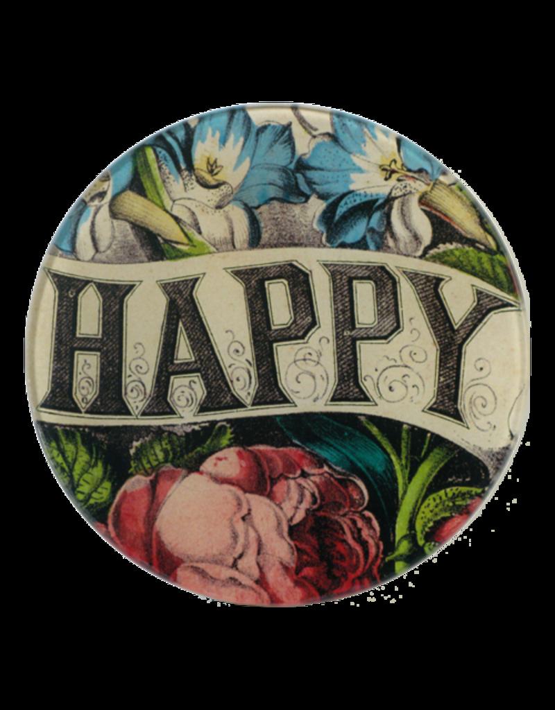 """JOHN DERIAN Happy 5.75"""" Round Plate"""