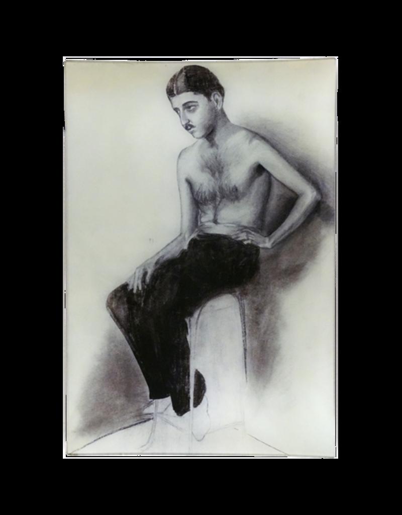 JOHN DERIAN Male Model Rectangle Tray