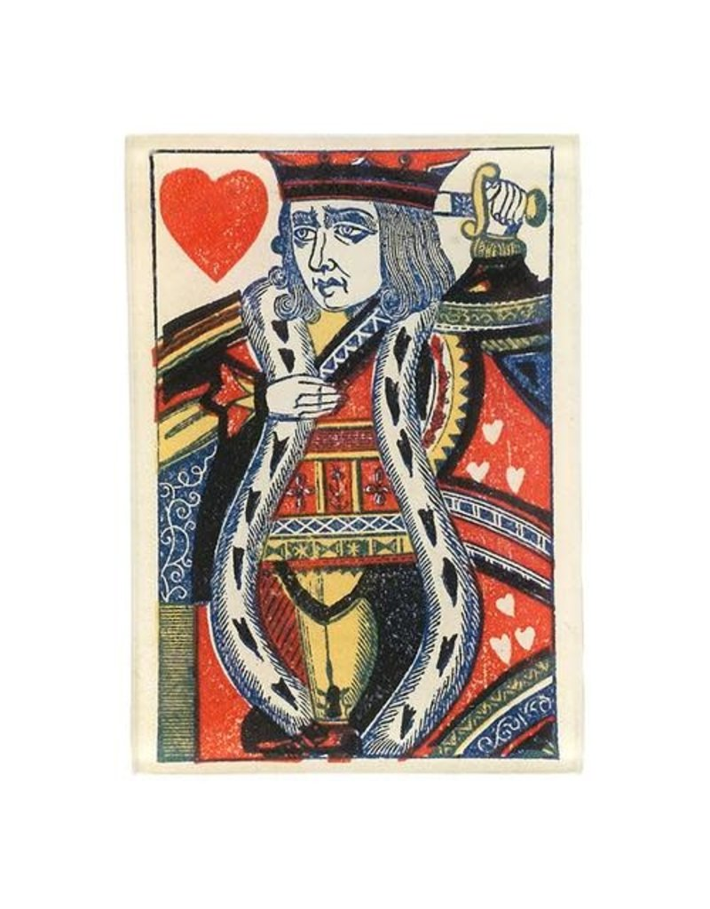 JOHN DERIAN Naive Kings Heart Tiny Rectangle Tray