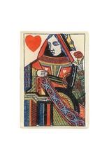 JOHN DERIAN Naive Queen Heart Tiny Rectangle Tray