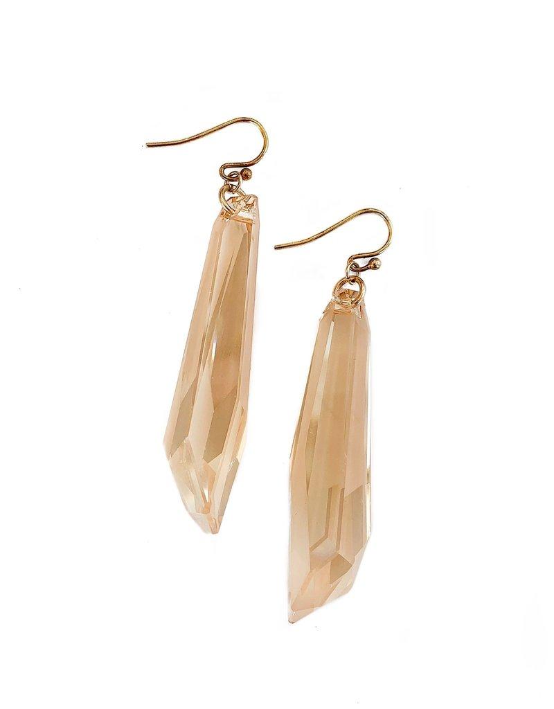 CHAN LUU Swarovski Crystal Earrings