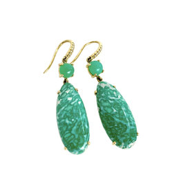 LAUREN K Variscite Earrings