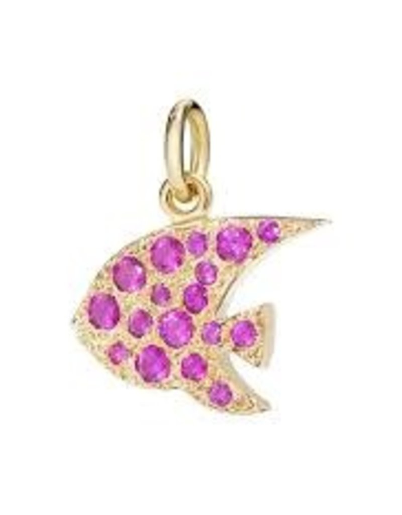 DODO Ruby Angelfish Charm