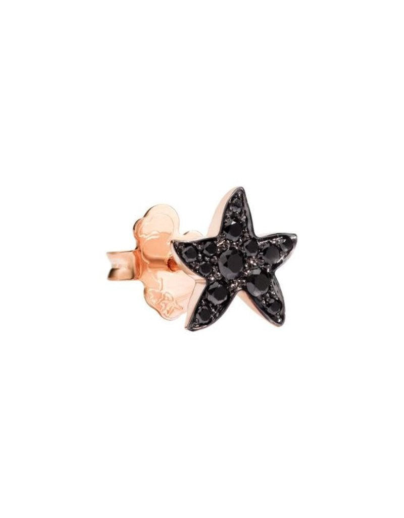 DODO Black Diamond Starfish Earrings