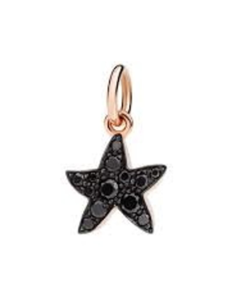 DODO Black Diamond Starfish Charm