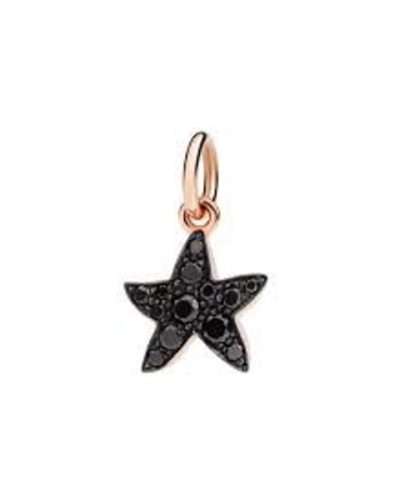 DODO Black Diamond Starfish Charm