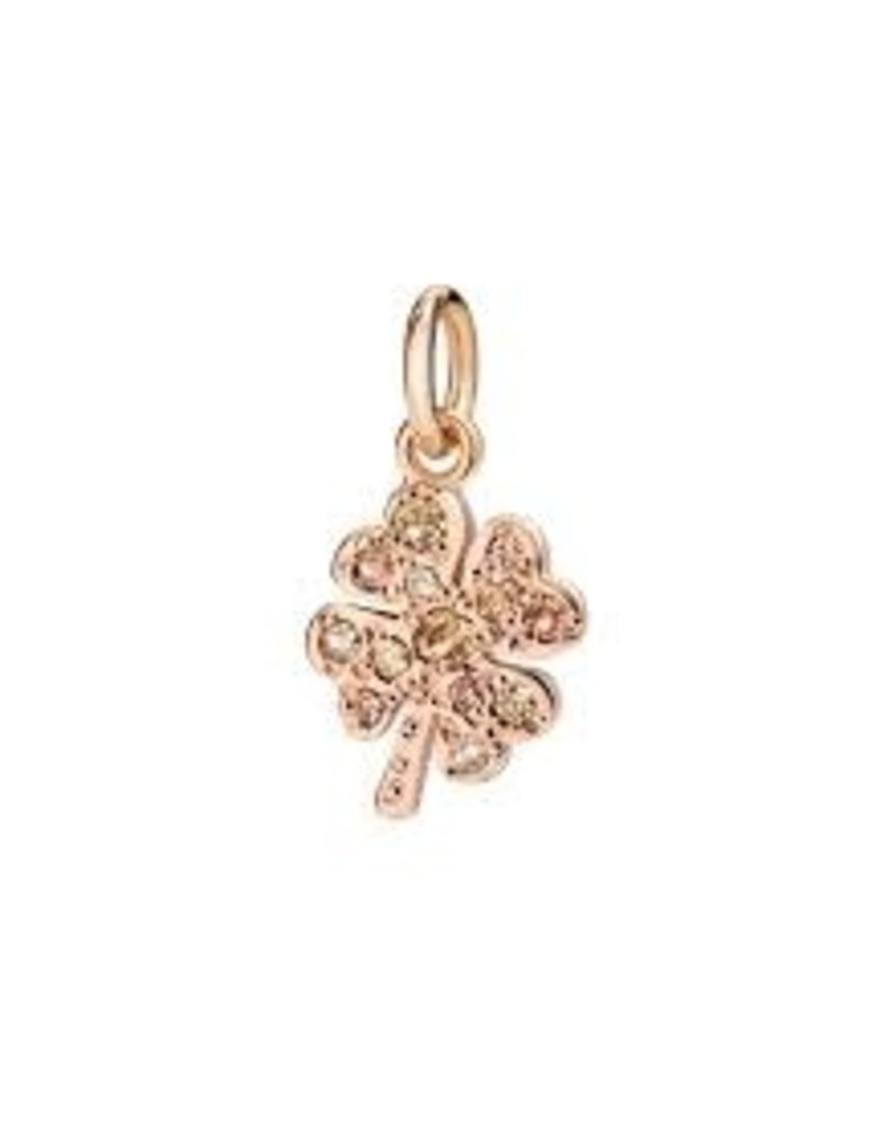 DODO Brown Diamond Clover Charm