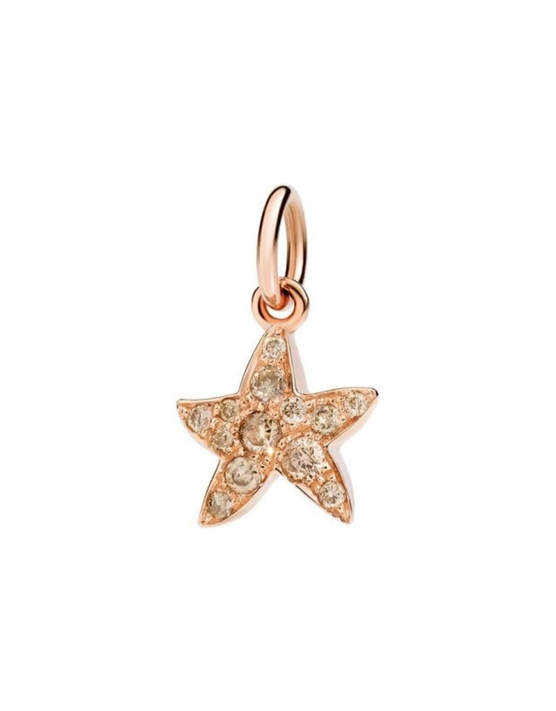 DODO Brown Diamond Starfish Charm