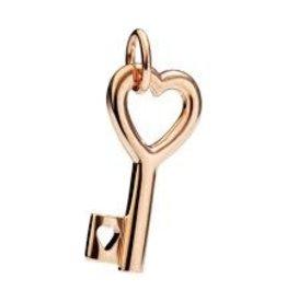 DODO Rose Gold Key Charm