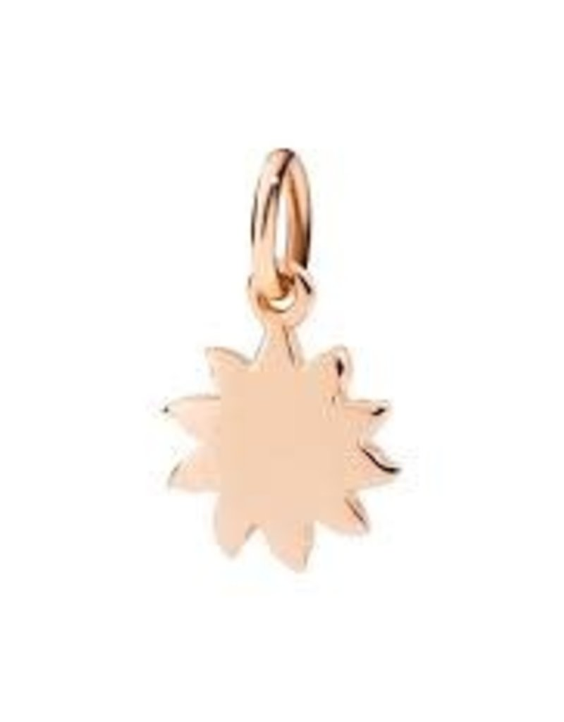 DODO Rose Gold Sun Charm