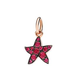 DODO Ruby Starfish Charm