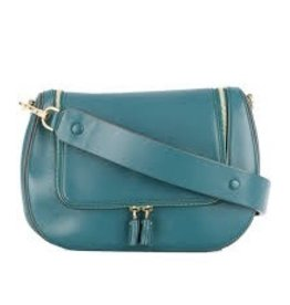 ANYA HINDMARCH Vere Satchel Dark Teal