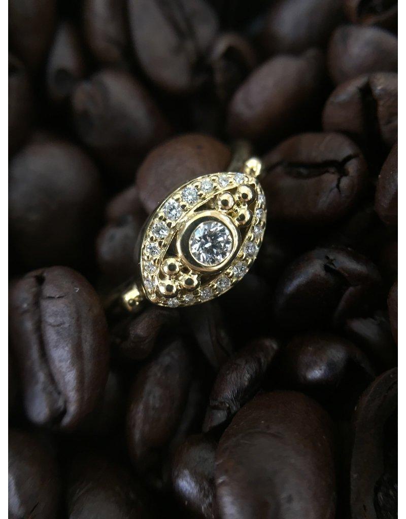 TEMPLE ST CLAIR Diamond Evil Eye Ring