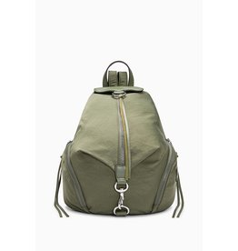 REBECCA MINKOFF Julian Nylon Backpack - Olive