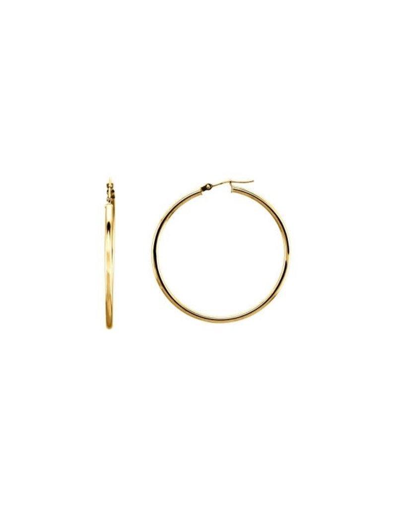 LAUREN FINE JEWELRY 40mm Tube Hoop Earring