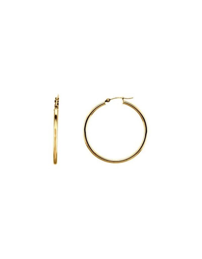 LAUREN FINE JEWELRY 34mm Tube Hoop Earring