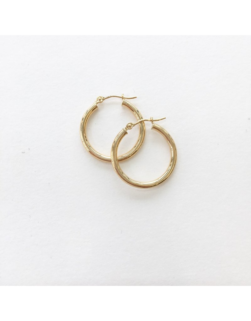 LAUREN FINE JEWELRY 20mm Tube Hoop Earring