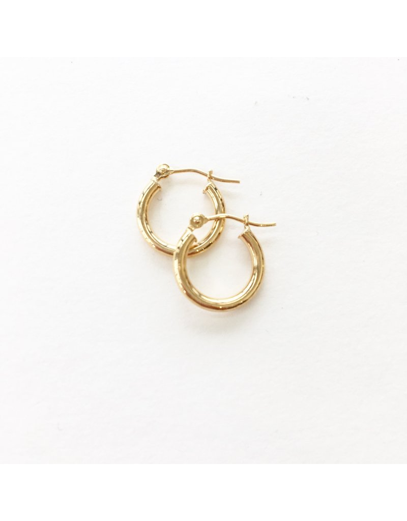 LAUREN FINE JEWELRY 13mm Tube Hoop Earring