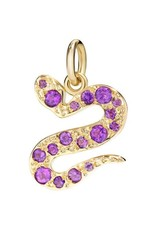 DODO Amethyst Serpent Charm