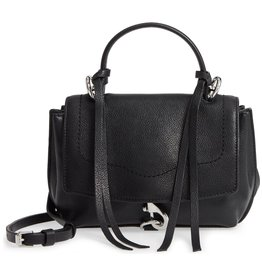 REBECCA MINKOFF Stella Mini Satchel Crossbody - Black
