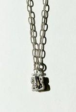 """SENNOD Matte Vignette Chain - Sterling 30"""""""