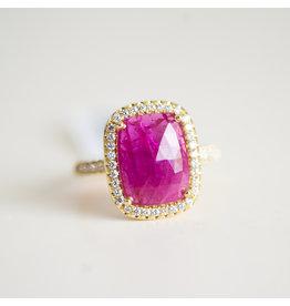LAUREN K Ruby Misha Ring