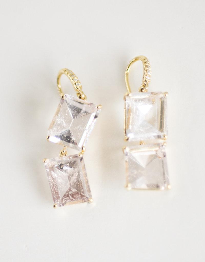 LAUREN K Morganite Earrings