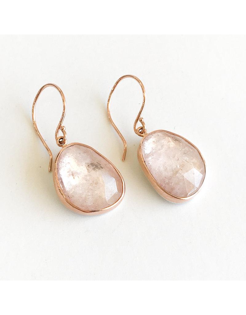 JAMIE JOSEPH Morganite Earrings