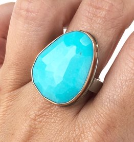 JAMIE JOSEPH Sleeping Beauty Turquoise Ring