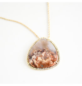 LAUREN K Primordial Agate Necklace