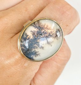 JAMIE JOSEPH Dendritic Agate Ring