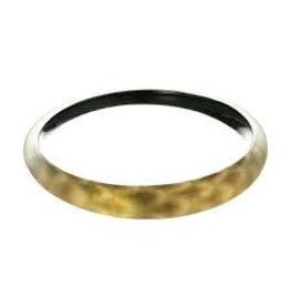 ALEXIS BITTAR Skinny Tapered Bangle - Gold Snake