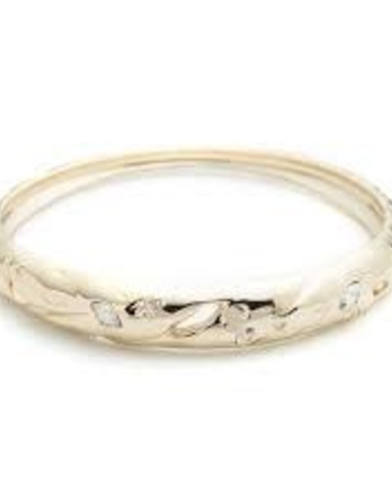 ALEXIS BITTAR Skinny Tapered Metal Bangle