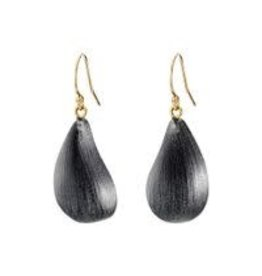 ALEXIS BITTAR Dewdrop Earrings - Black