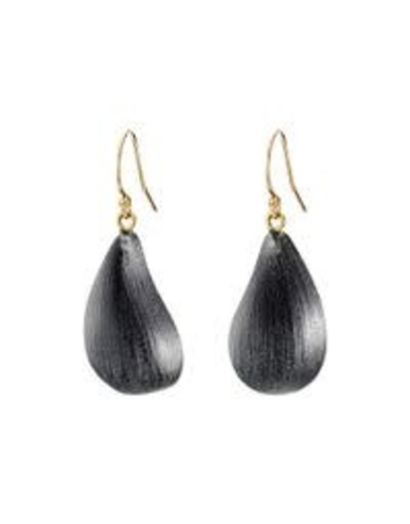 ALEXIS BITTAR Dewdrop Earrings - Black