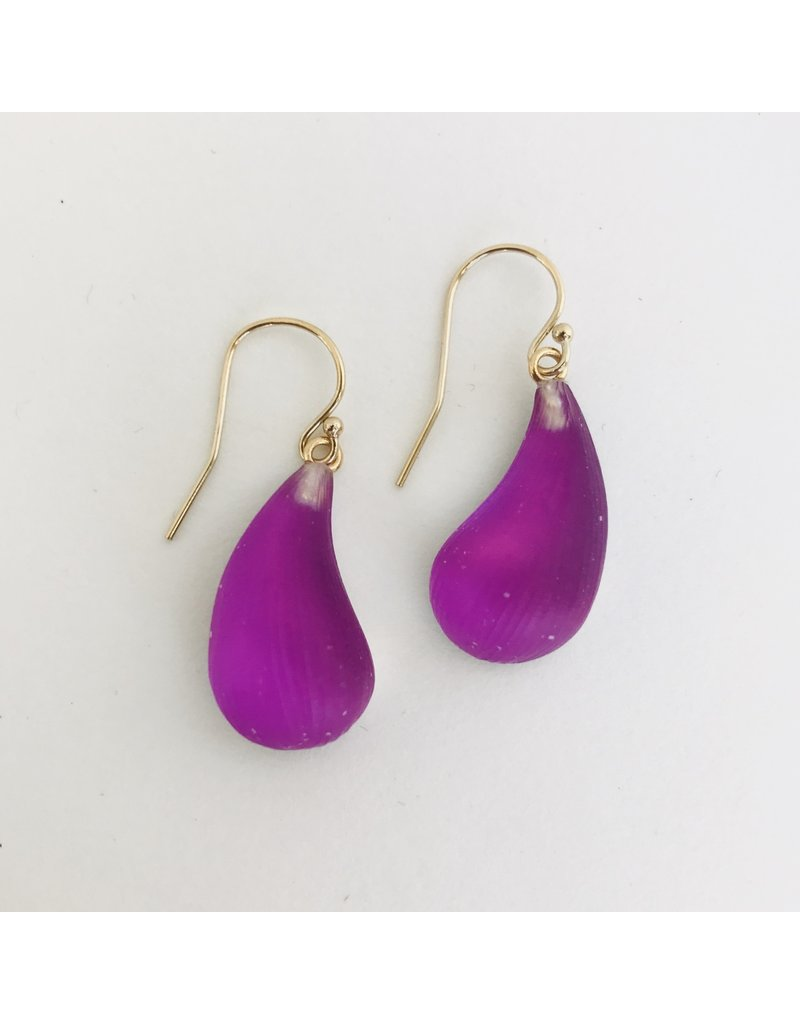 ALEXIS BITTAR Dewdrop Earrings - Fuschia