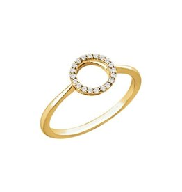 LAUREN FINE JEWELRY Diamond Circle Ring