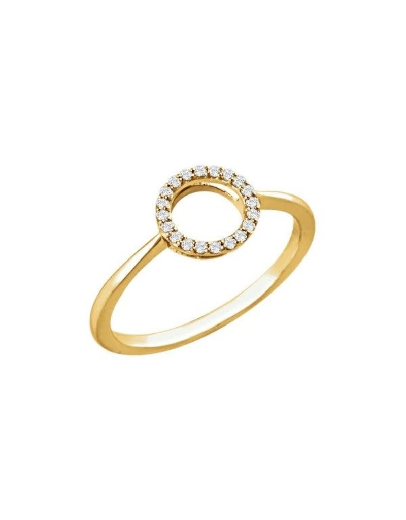 LAUREN FINE JEWELRY Diamond Circle Ring