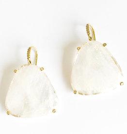 LAUREN K Rainbow Moonstone Earrings