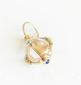 TEMPLE ST CLAIR Blue Moonstone Amulet