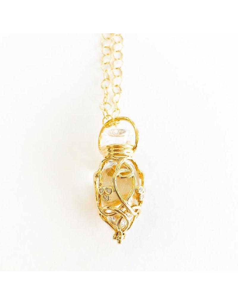 TEMPLE ST CLAIR Diamond Anfora Amulet