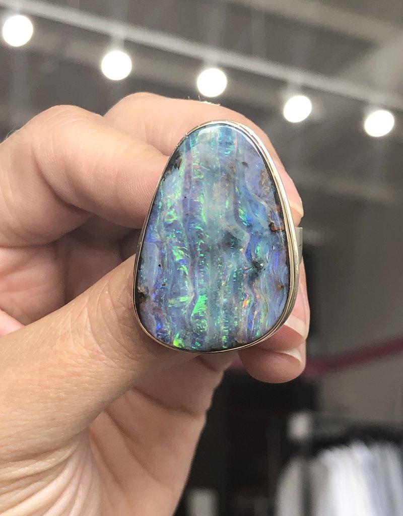 JAMIE JOSEPH Boulder Opal Ring