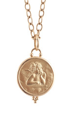 TEMPLE ST CLAIR Angel Pendant 14mm