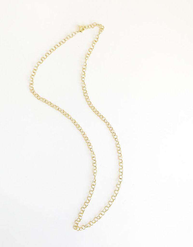 "TEMPLE ST CLAIR 24"" Fine Round Link Chain"